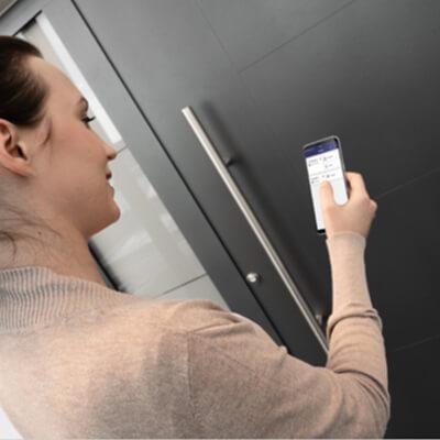 Türöffnung per Bluetooth