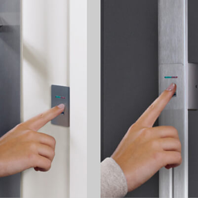 Türöffnng per Fingerabdruck