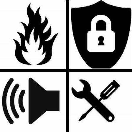 Brandschutz Piktogramme