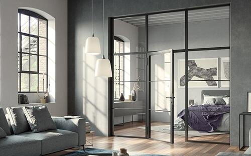 Eyecatcher im Wohnbereich: Lofttüren im angesagten Industrial-Style